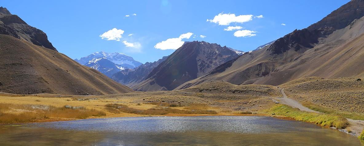 Cordilheira dos Andes em Mendoza