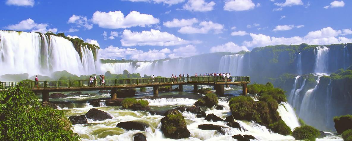 Turistas em Foz do Iguaçu