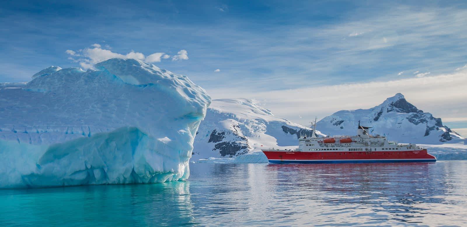 viagem Antártica