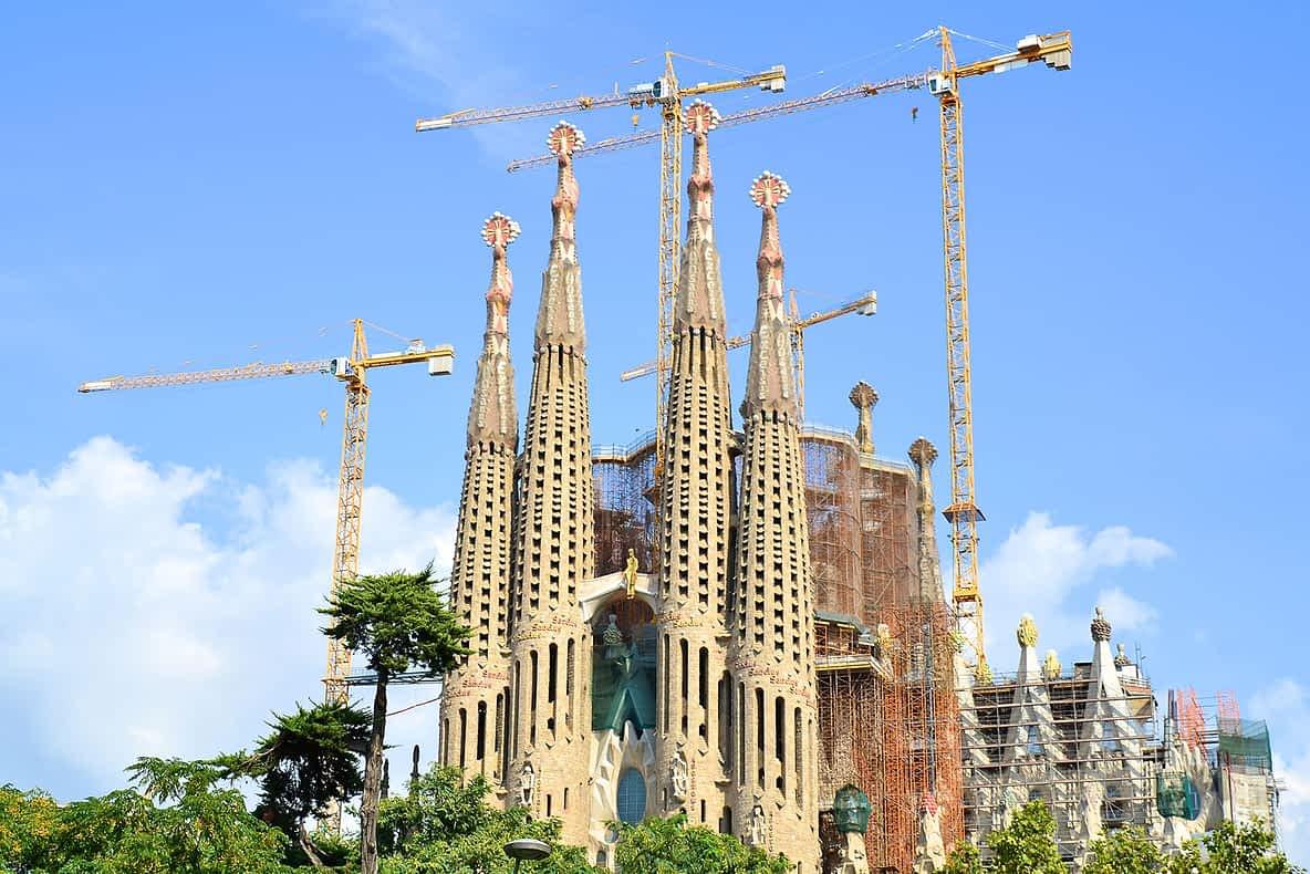 Basílica Sagrada Família em Barcelona